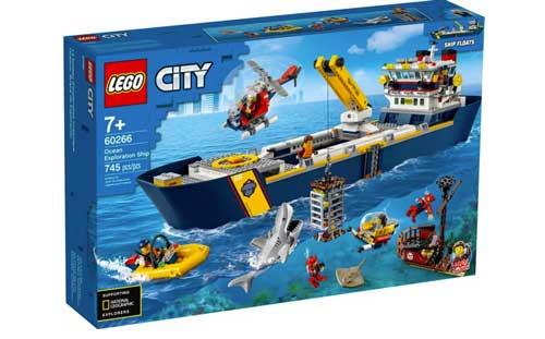 Lego City Ship
